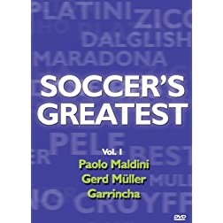 Soccer's Greatest - Volume 1 - Paolo Maldini/Gerd Muller,Garrincha