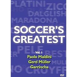 Soccer's Greatest - Volume 1 - Paolo Maldini/Gerd Muller,Garrincha