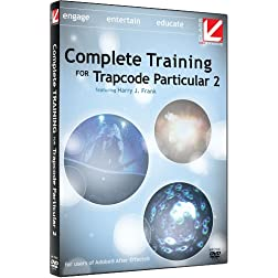 Class on Demand Training DVD, Complete Training for Red Giant Trapcode Particular 2 with Harry Frank Educational Training Tutorial DVD