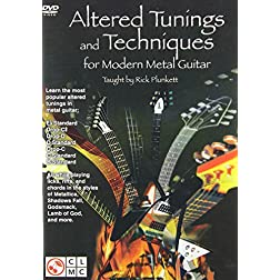Alternate Tunings & Techniques for Modern Metal