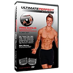 Perfect Pushup Ultimate Perfect Workout 25 Full Workouts/5 Disk Set New!