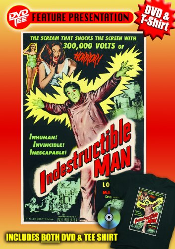 Indestructible Man DVDTee (Large)