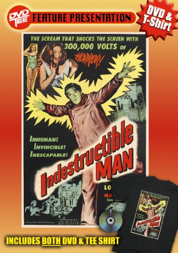 Indestructible Man DVDTee (XL)