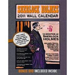 Sherlock Holmes 2011 Wall Calendar