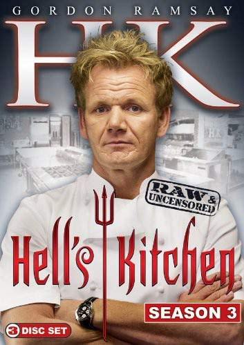Hell's Kitchen: Season 3 Raw & Uncensored (3pc)