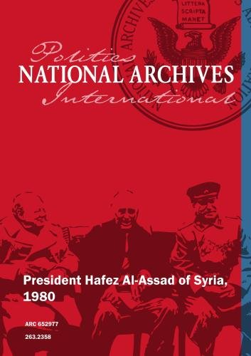 President Hafez Al-Assad of Syria, 1980
