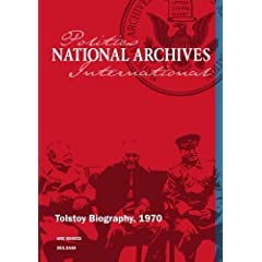 Tolstoy Biography, 1970