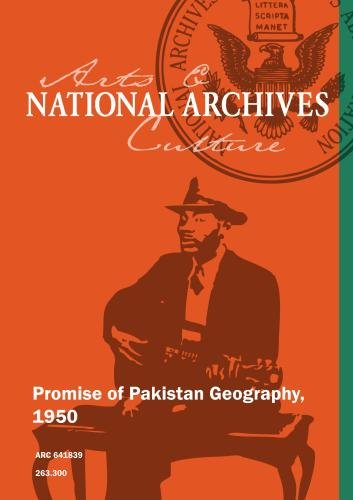 Promise of Pakistan Geography, 1950