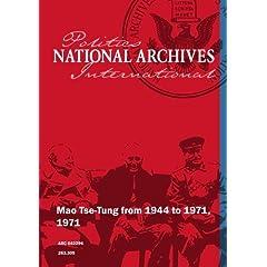 Mao Tse-Tung from 1944 to 1971, 1971