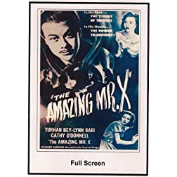 The Amazing Mr.X 1948
