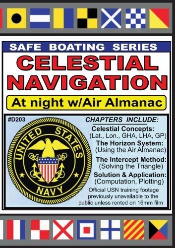 Celestial Navigation at Night w/Air Almanac