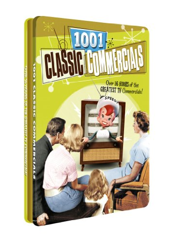 1001 Classic Commercials - Collectible Tin