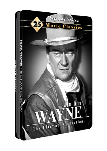 John Wayne: Ultimate Collection 25 Movies - Collectible Tin