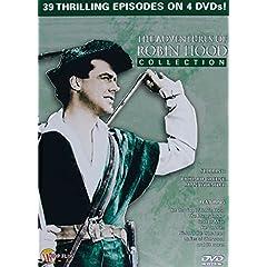 Adventures of Robin Hood (4pc) (Full B&W Tin)