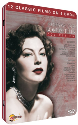 Hollywood Bombshells (4pc) (Full B&W Tin)