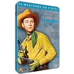 Silver Screen Cowboys (4pc) (Full B&W Tin)