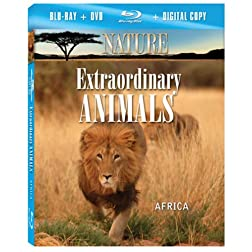 NATURE: Extraordinary Animals: Africa (Blu-ray Combo Pack)