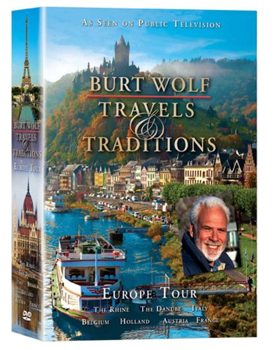 Burt Wolf: Travel and Traditions: Europe Tour (DVD 6 Pack)