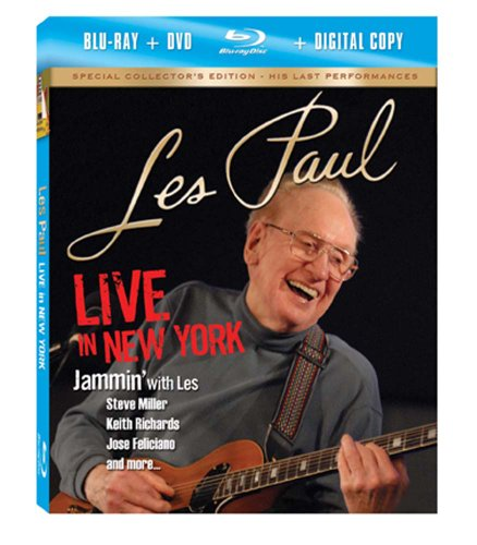 Les Paul: Live in New York (Blu-ray Combo Pack)