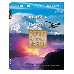 Scenic National Parks: Alaska & Hawaii (Blu-ray Combo Pack)