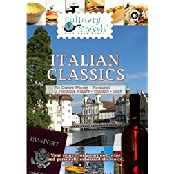 Culinary Travels Italian Classics Italy-Pio Cesare Winery-Piedmont/Il Poggione Winery-Tuscany