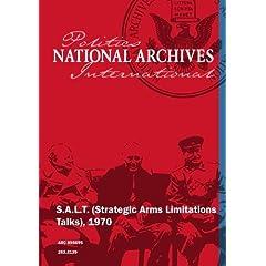 S.A.L.T. (Strategic Arms Limitations Talks), 1970