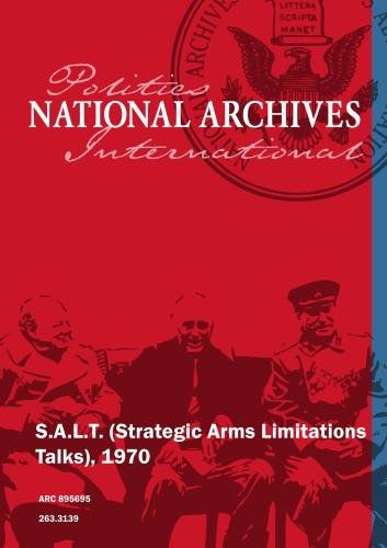 S.A.L.T. (Strategic Arms Limitations Talks), 1970