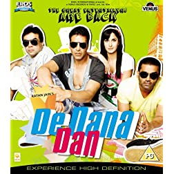 De Dana Dan (Comedy Hindi Film / Bollywood Movie / Indian Cinema Blu-ray DVD)
