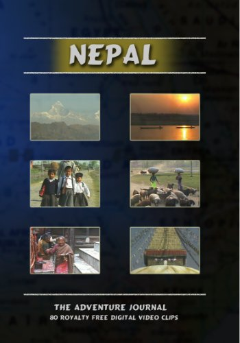 Nepal Royalty Free Stock Footage