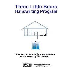 Three Little Bears Handwriting Program