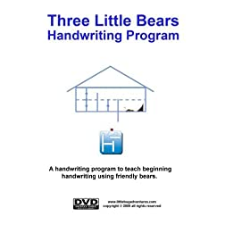 Three Little Bears Handwriting Program