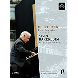 Barenboim Plays Beethoven Piano Concertos
