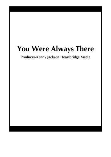 You Were Always There