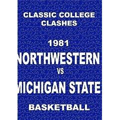1981 Northwestern vs Michigan State - Basketball