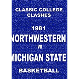 1981 Northwestern vs Michigan State - Basketball