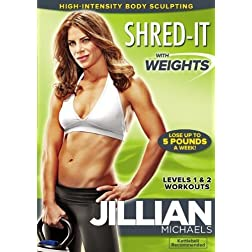 Jillian Michaels: Shred-It With Weights