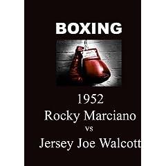 Rocky Marciano vs Jersey Joe Walcott - Boxing