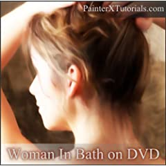 Painter X Tutorials: Woman in Bath on DVD