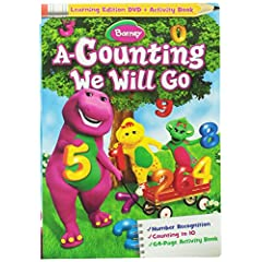 A Counting We Will Go DVD w/ 64 page Activity Book