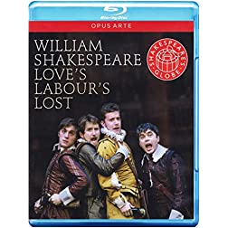 William Shakespeare - Love's Labour's Lost [Blu-ray]
