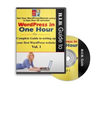 Wordpress in One Hour Volume 1 & 2