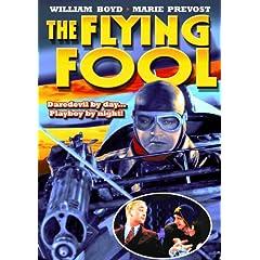Flying Fool (B&W)