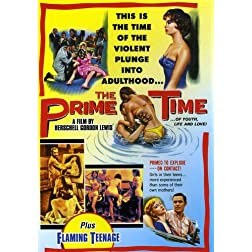Prime Time (1960) & Flaming Teenage (1956) (B&W)
