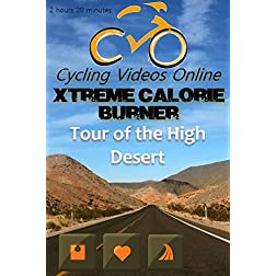 Xtreme Calorie Burner! Tour of the High Desert, Nevada. Indoor Cycling Training / Spinning Fitness and Workout Videos