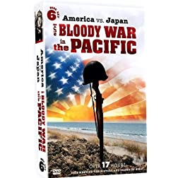 America vs. Japan - The Bloody War in the Pacific - 6 DVD Set!