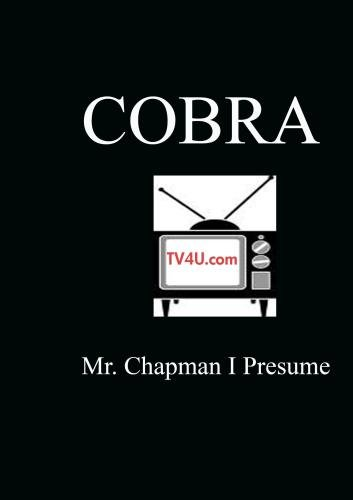 Mr. Chapman I Presume - Cobra