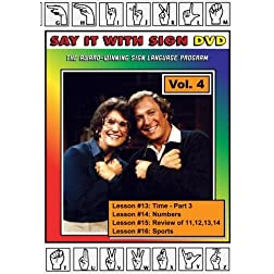 Sign Language Course - Volume 4