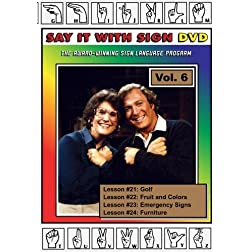 Sign Language Course - Vol. 6