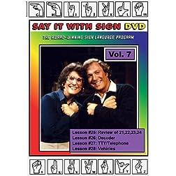 Sign Language Course - Vol. 7