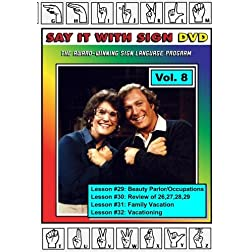 Sign Language Course - Vol. 8